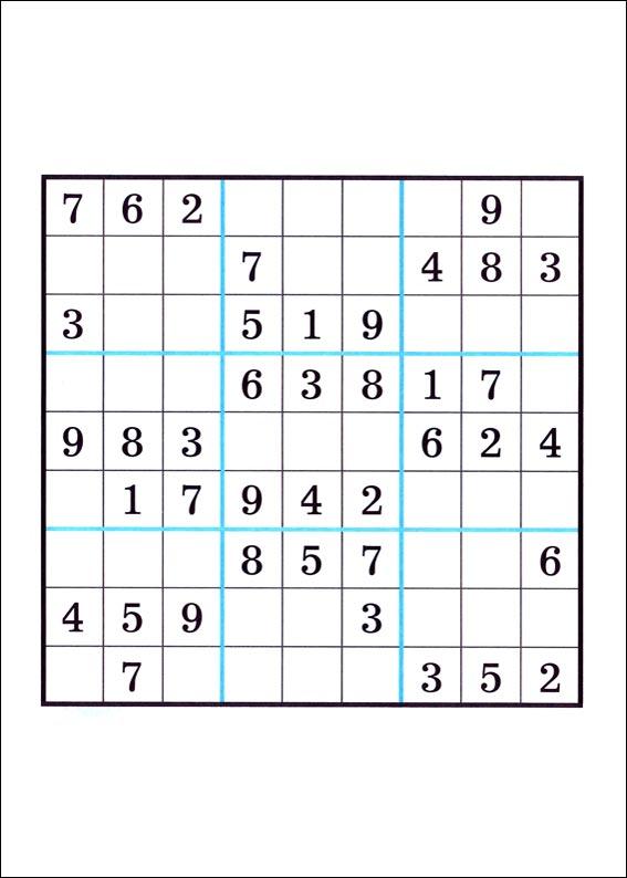 Jeu du Sudoku récré kids