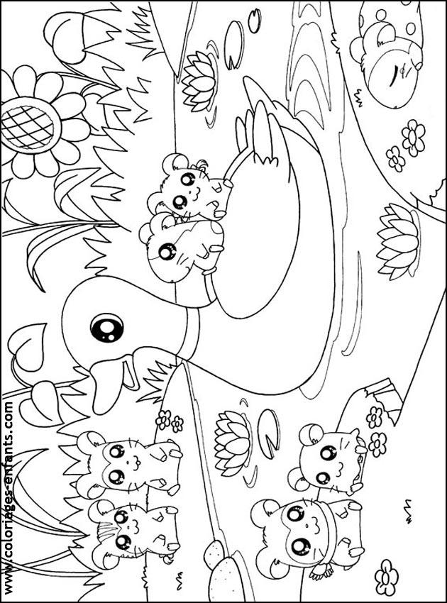 Coloriage de canards imprimer pour les enfants - Canard a colorier ...