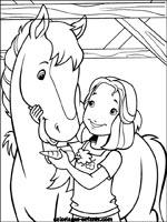 Coloriages et jeux de chevaux - Jeux de poney qui saute ...