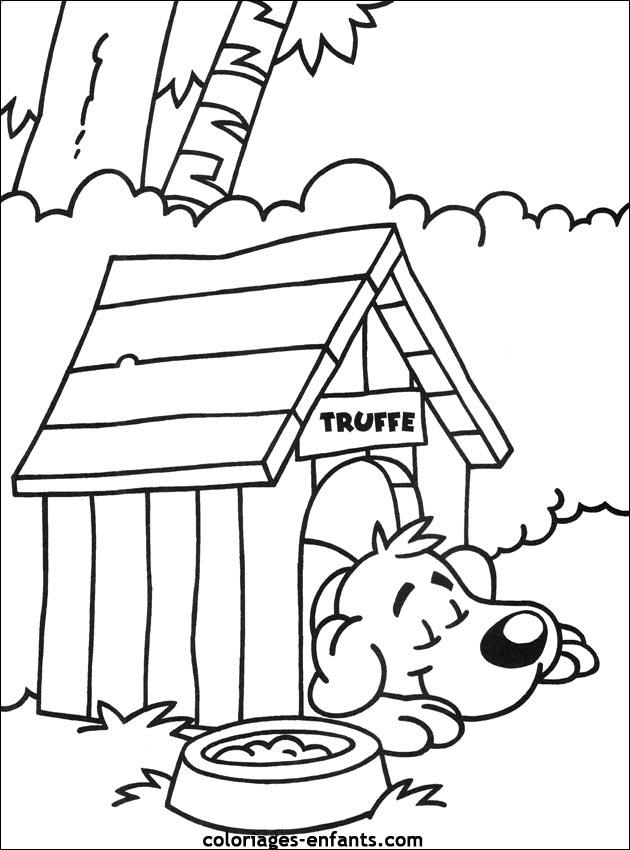 Coloriage de chiens imprimer - Photo de chiot a imprimer ...