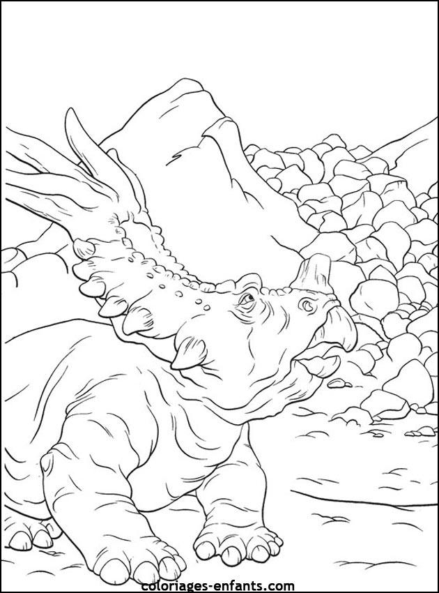 coloriages de dinosaures