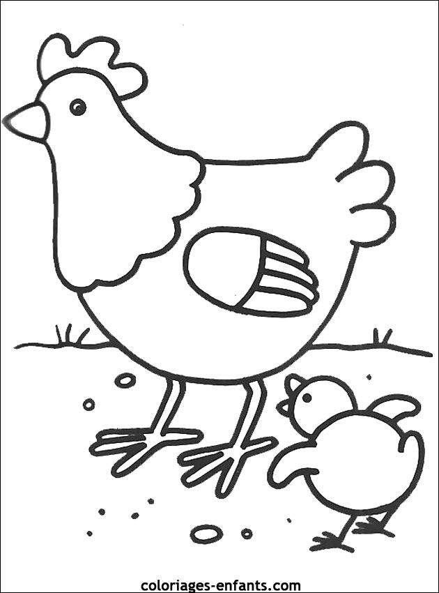 Coloriage d 39 oiseaux imprimer de coloriages enfants - Colorage enfant ...