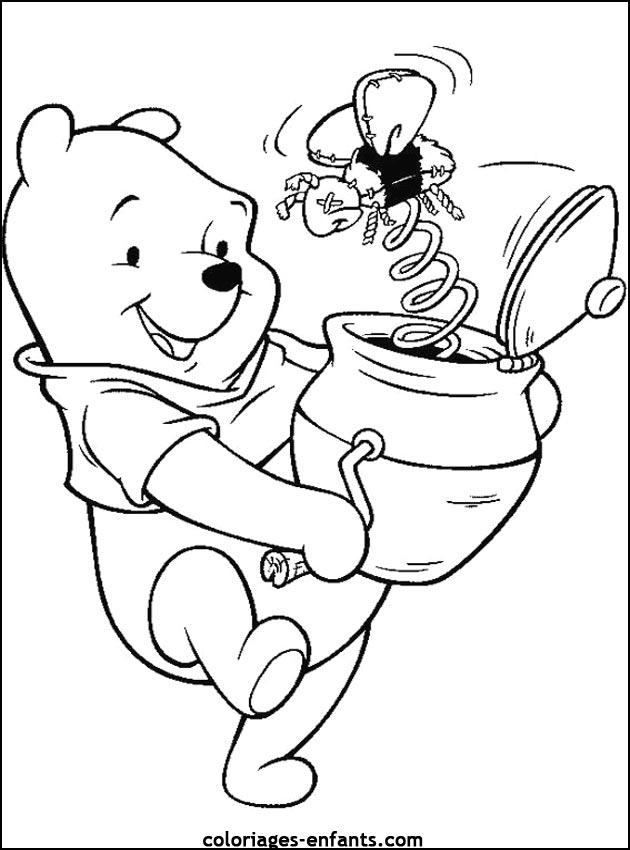 Célèbre Coloriage d'ours de la rubrique animaux à imprimer de coloriages  GJ85