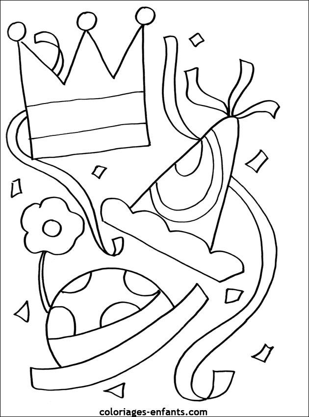 Coloriage de carnaval imprimer sur coloriages - Immagini del ragno da stampare ...