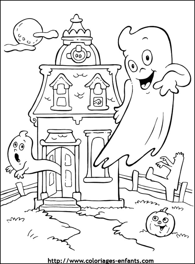 Coloriages Halloween Colorier Les Enfants Marnfozine Com
