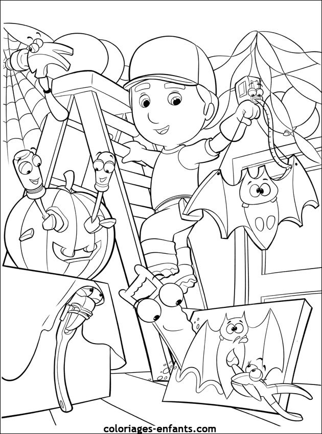 Coloriage d 39 halloween imprimer sur coloriages - Coloriages d halloween ...