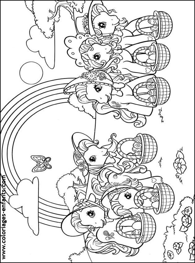 Coloriage de Pâques à imprimer sur coloriages-enfants.com