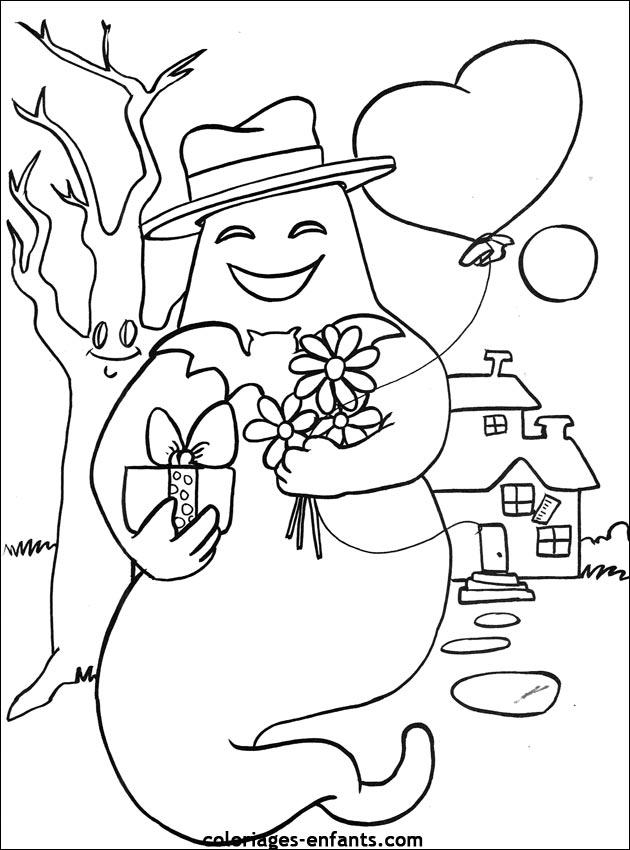 Coloriage de la st valentin sur coloriages - St valentin dessin ...