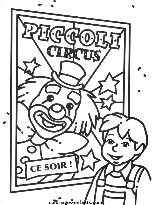 coloriages cirque 45