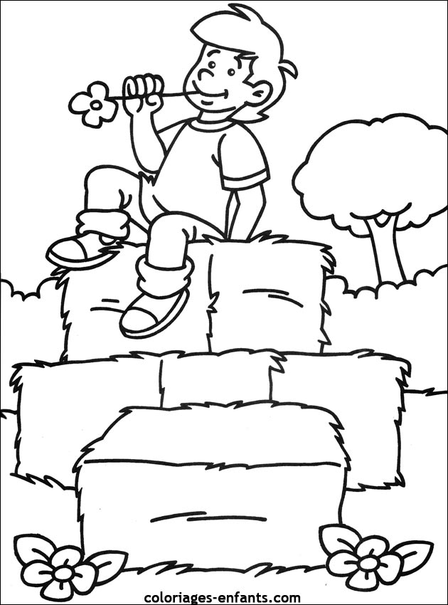 coloriages ferme 09jpg
