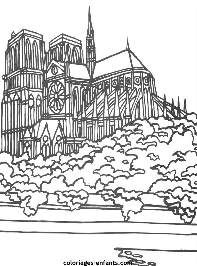 Coloriages Et Jeux De Notre Dame