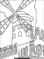 Coloriages Et Jeux De Paris