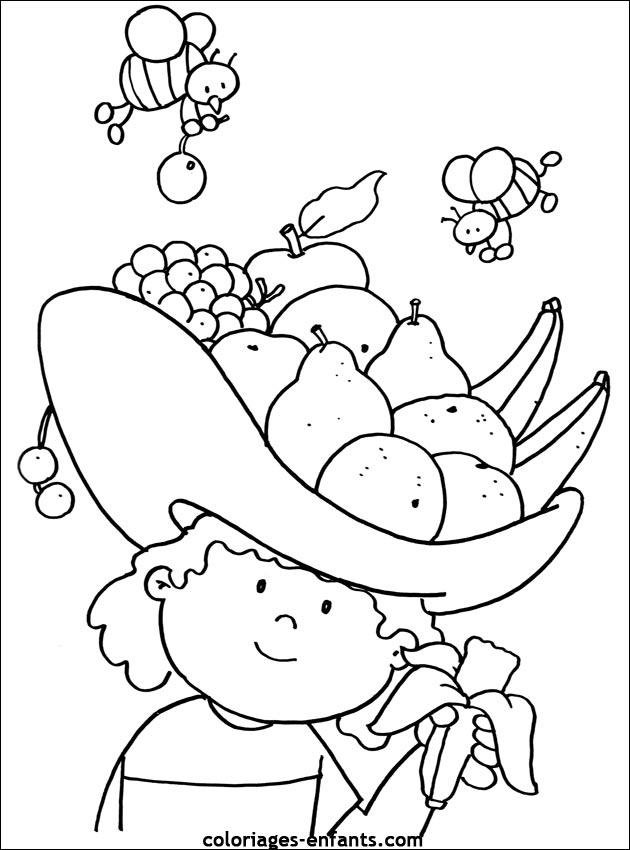 Index Of Rubrique Nature Images Coloriages Fruits Legumes