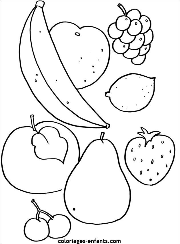 Kleurplaat Fruitschaal Idee 235 N Over Kleurpagina S Voor
