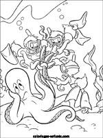 Jeux et coloriages de la mer - Coloriage mini force ...