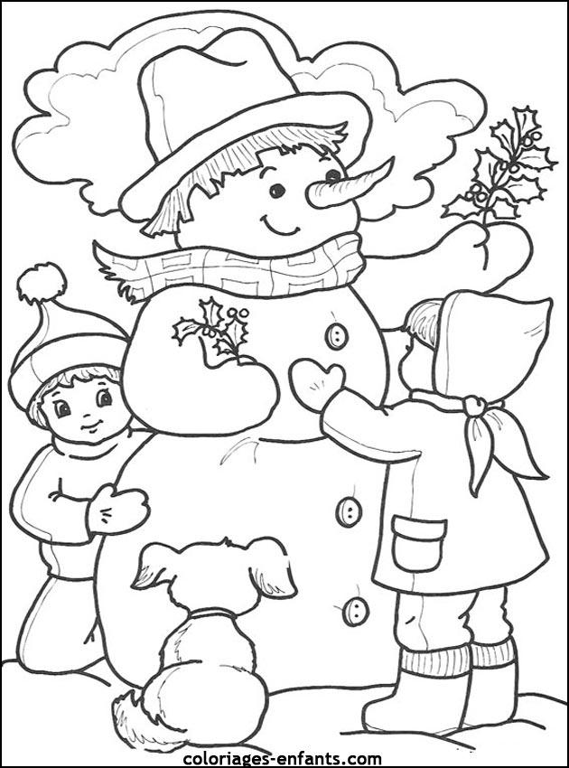 Les Coloriages Des Saisons A Imprimer Sur Coloriages Enfants Com