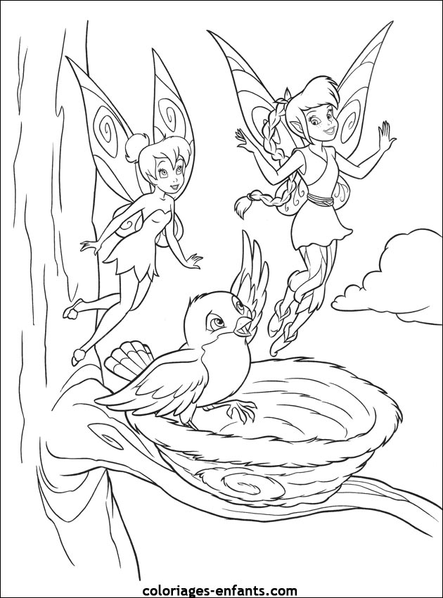 Coloriage imprimer fee ondine - Fee coloriage ...