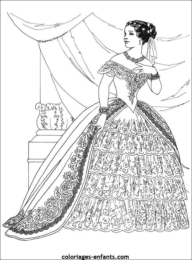 Southern belle coloring book sketch coloring page for Southern belle coloring pages