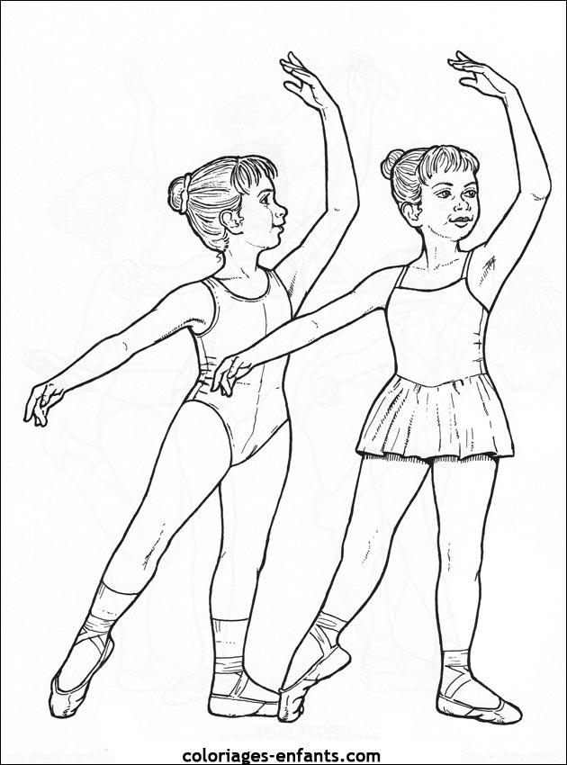 Coloriage de danse imprimer sur coloriages - Dessin de danseuse moderne jazz ...