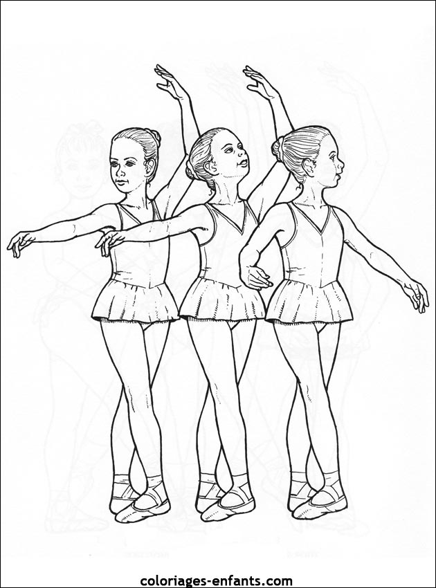 Index of rubrique sports images coloriages danse - Danseuse dessin ...