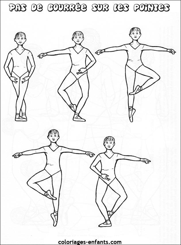 coloriage de danse 224 imprimer sur coloriages enfants com
