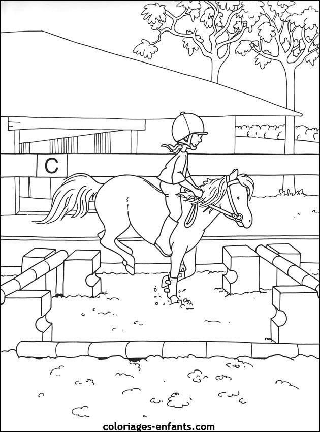 Index Of Rubrique Sports Images Coloriages Equitation
