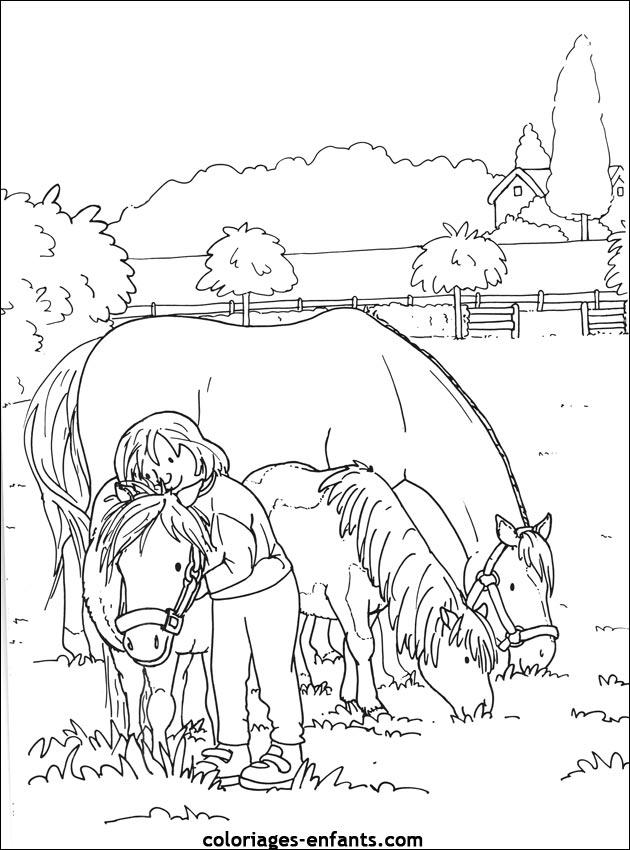 Kleurplaat Paarden Westren Les Coloriages D 233 Quitation 224 Imprimer Sur Coloriages