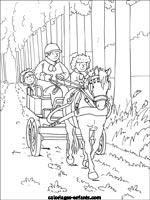 Coloriages d 39 quitation - Coloriage poney club ...
