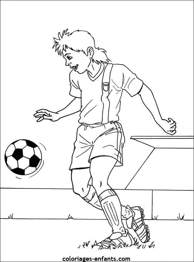 Les Coloriages d'football à imprimer sur Coloriages ...