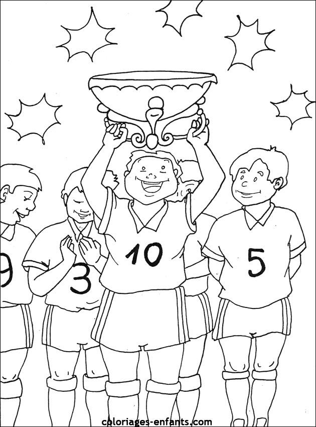 Dessin joueur de foot - Dessin equipe de foot ...