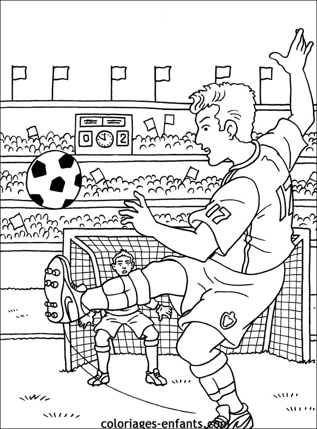 Index Of Rubrique Sports Images Coloriages Football