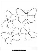 Coloriages Et Jeux De Papillons