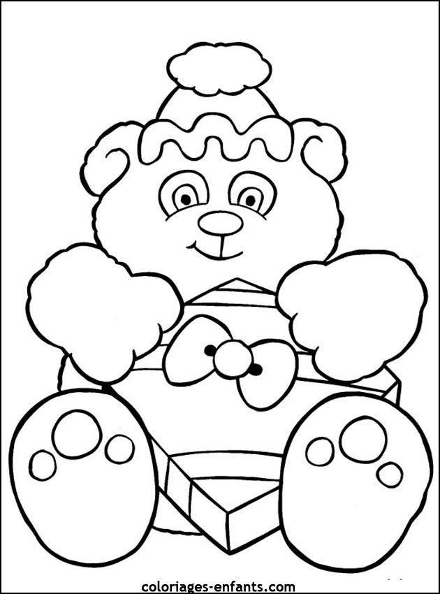 Coloriage De Noel A Imprimer Sur Coloriages Enfants Com