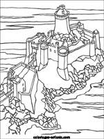 Coloriage204 Coloriage De Chateau Fort