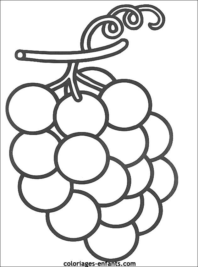 Coloriages De Fruits Et Légumes Pour Enfants