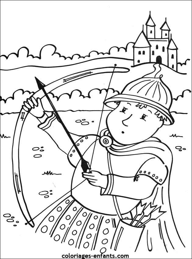 coloriage gratuit a imprimer chevalier du zodiaque