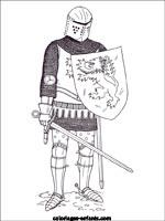 Coloriage Armure Chevalier.Coloriages Et Jeux De Chevaliers