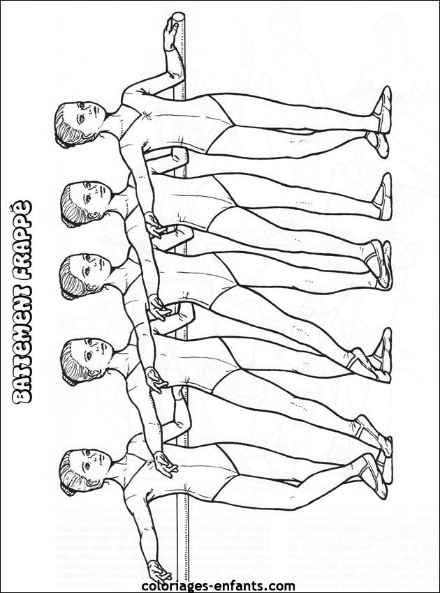 Coloriage De Danseuse.Coloriage De Danse A Imprimer Sur Coloriages Enfants Com