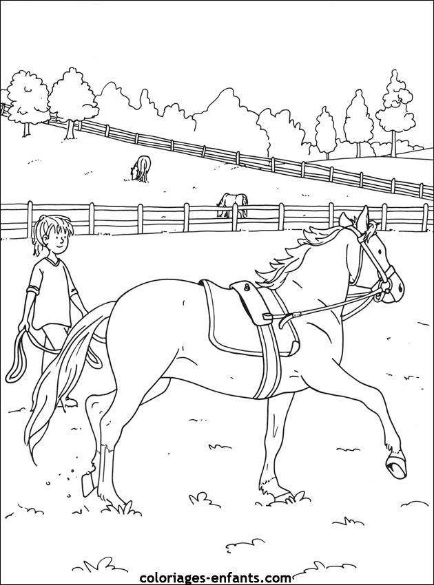 Paarden In De Stal Kleurplaten Les Coloriages D 233 Quitation 224 Imprimer Sur Coloriages