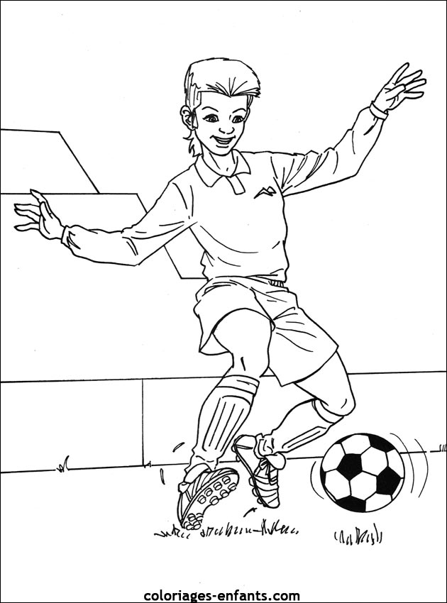 Footballeur Dessin