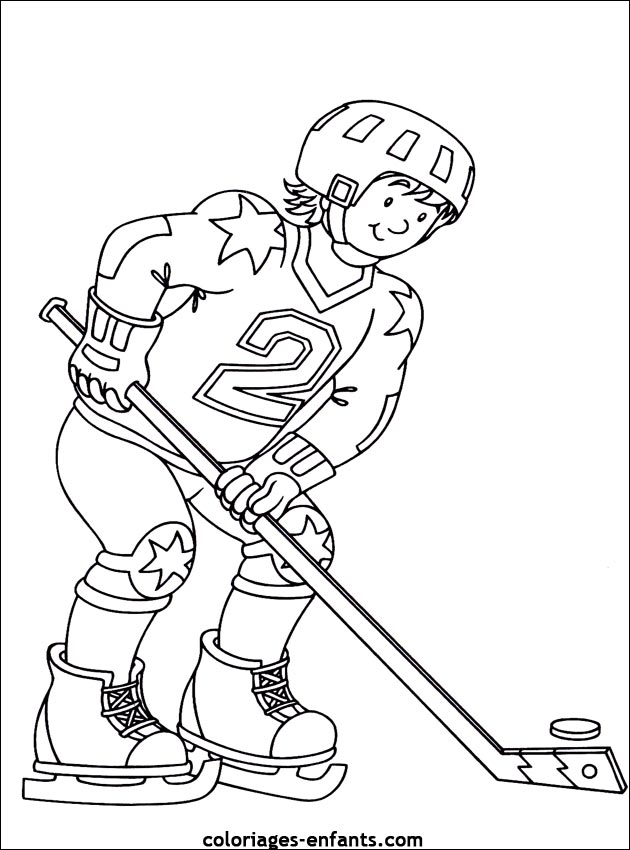 Nhl Coloring Pages