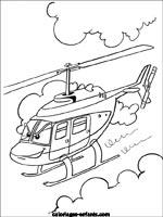Coloriages Et Jeux De Helicopteres